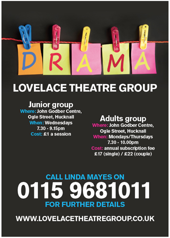 The Lovelace Theatre Group Home Page